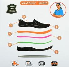 Анатомични обувки от естествена кожа