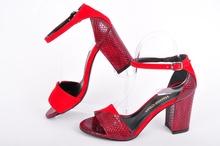 NEW!Дамски сандали Нанси Стил-Бордо