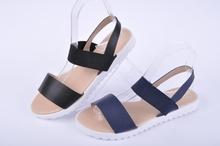 Ниски дамски сандали с ластик