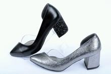 Ефектни елегантни обувки-Два цвята