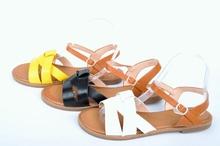 НОВО! Ниски дамски сандали-Три цвята