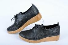 NEW! Черни дамски обувки-Платформа