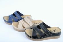 Анатомични дамски чехли-Три цвята