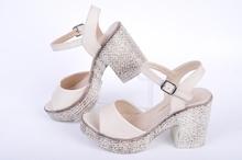 НОВО! Дамски сандали широк ток