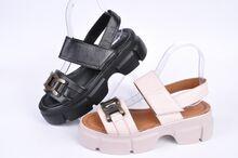 Дамски сандали от естествена кожа - Два цвята