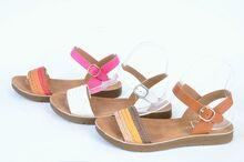NEW! Ниски дамски сандали -Три цвята