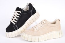 НОВО! Дамски обувки Велур - Два цвята